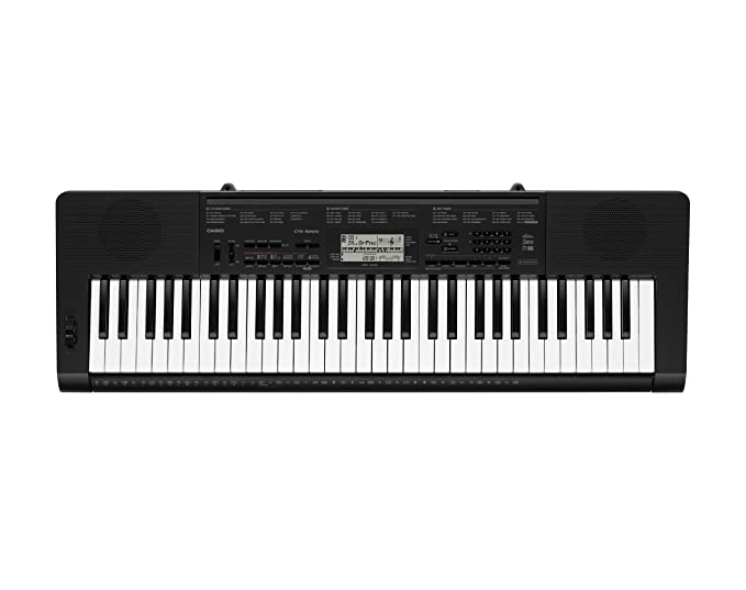 Casio Ctk 3200ad 61 Key Piano Style Touch Response Keyboard With Ac