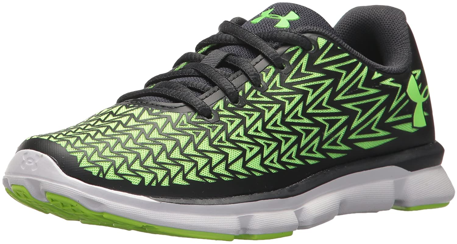 Under Armour Kids Boys Grade School ClutchFit RebelSpeed2 Running Shoe