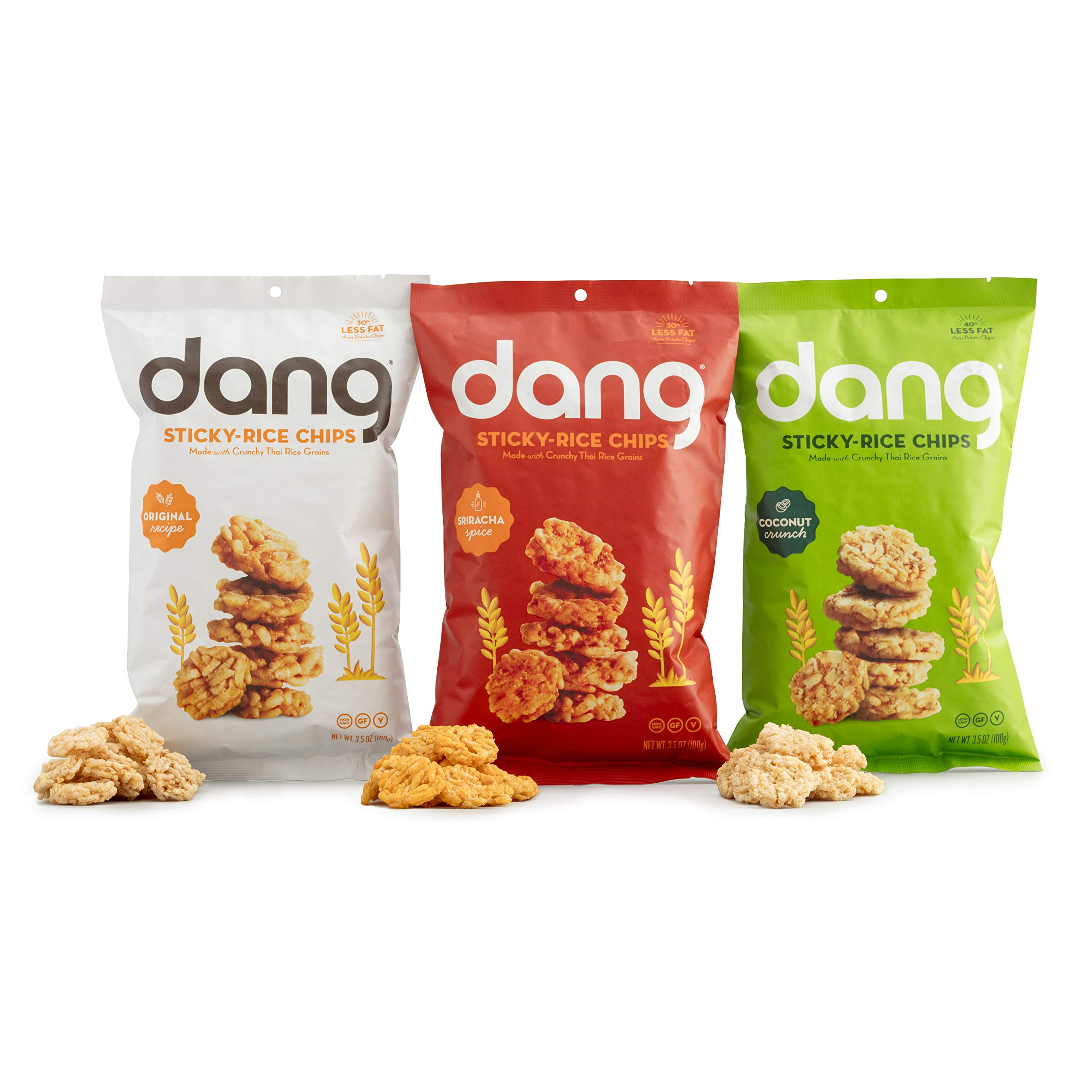 Amazon.com : Dang Toasted Coconut Chips 4 Piece Variety