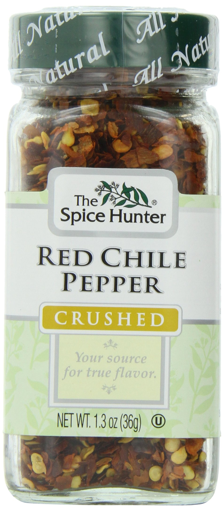 Spice Hunter Spices, Crushed Red Chili Pepper, 1.3 Ounce (Pack of 6)
