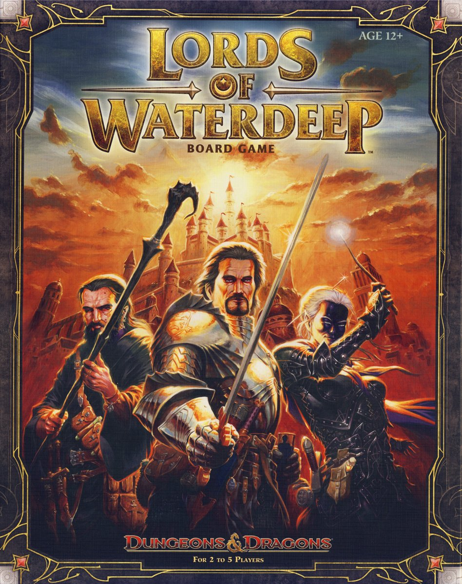 Wizards of the Coast 388510000 - Lords of Waterdeep, Brettspiel