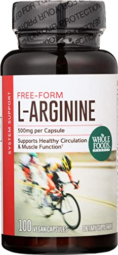 Whole Foods Market, L-Arginine 500mg, 100 ct