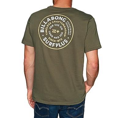 billabong t shirt uomo  BILLABONG - T-Shirt - Uomo Dark Olive X-Small: : Abbigliamento