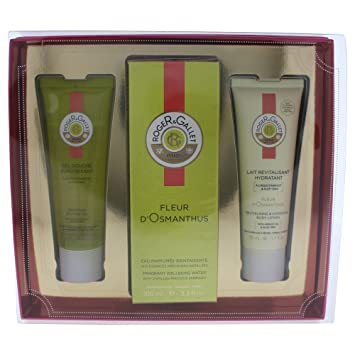 Amazon Com Roger Gallet Fleur D Osmanthus 3 Piece Gift Set For