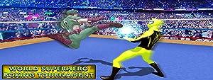 World Superhero Boxing Tournament by Action Uni