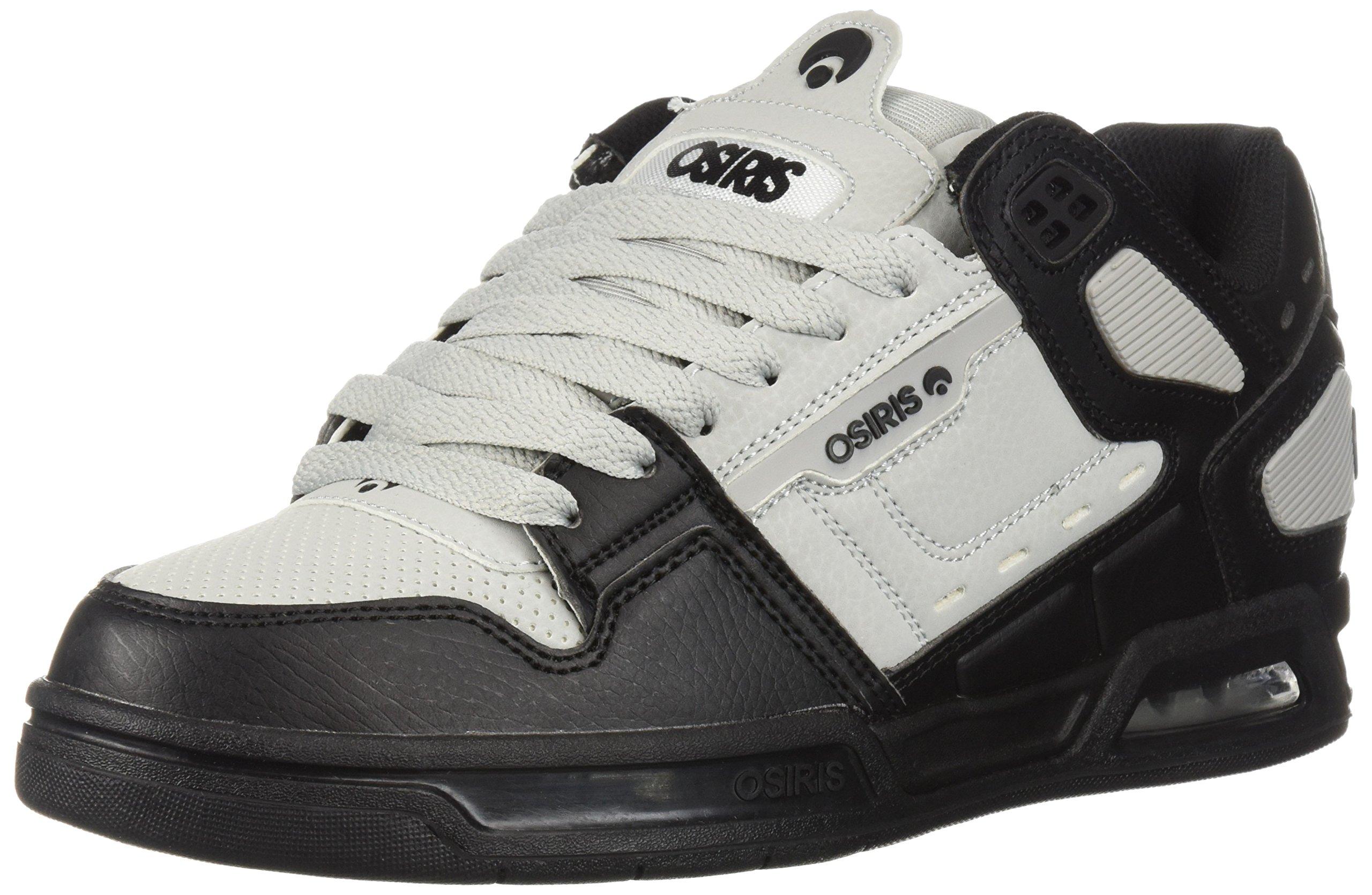 Peril Skate Shoe, Light Grey/Black