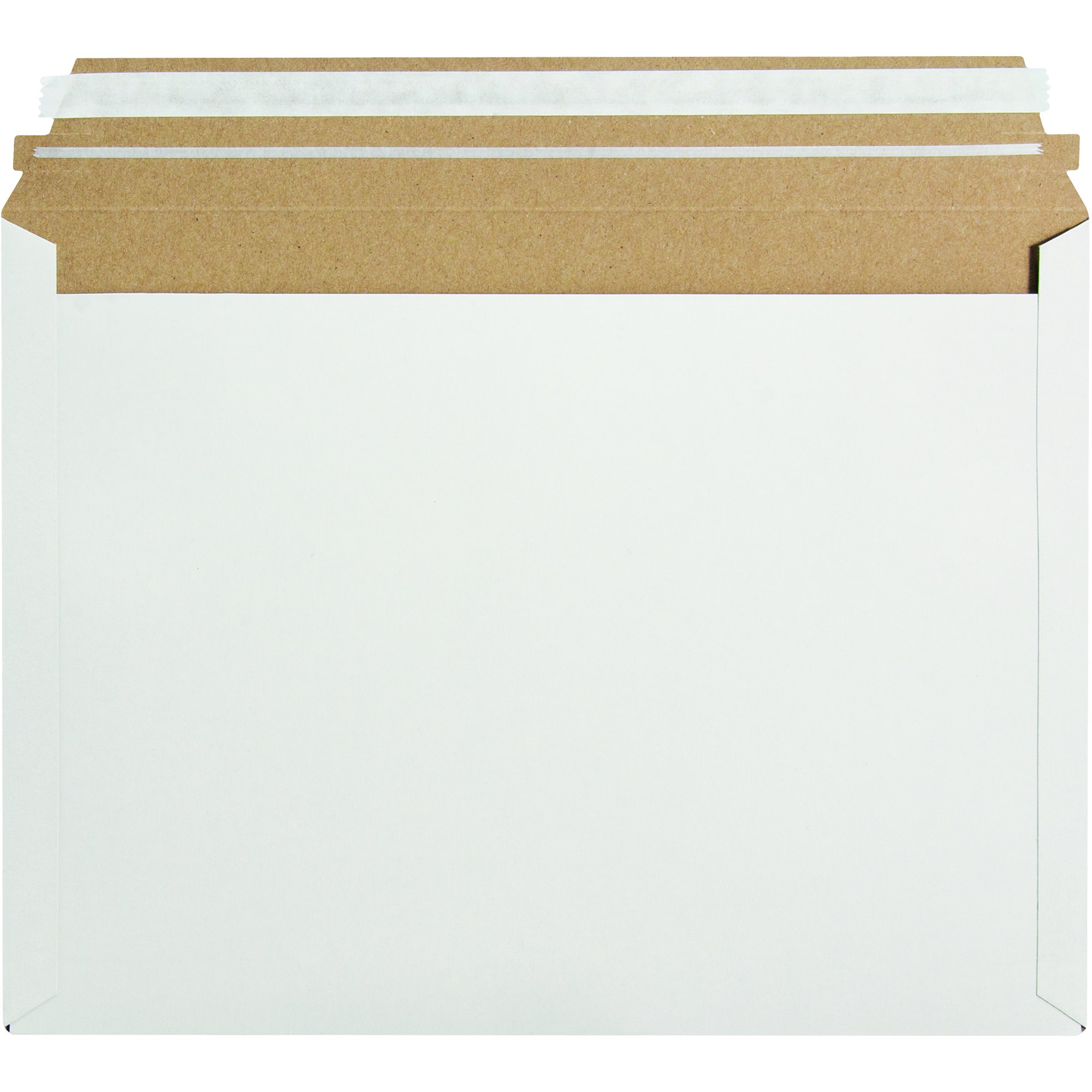 Aviditi RM1EP Express Pouch Mailer, 12 1/2'' x 9 1/2'', 9.5'' Length, 12.5'' Width, White (Pack of 250)