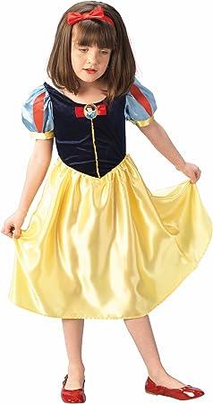 Rubies - Disfraz de blancanieves para niña, talla S: Amazon.es ...