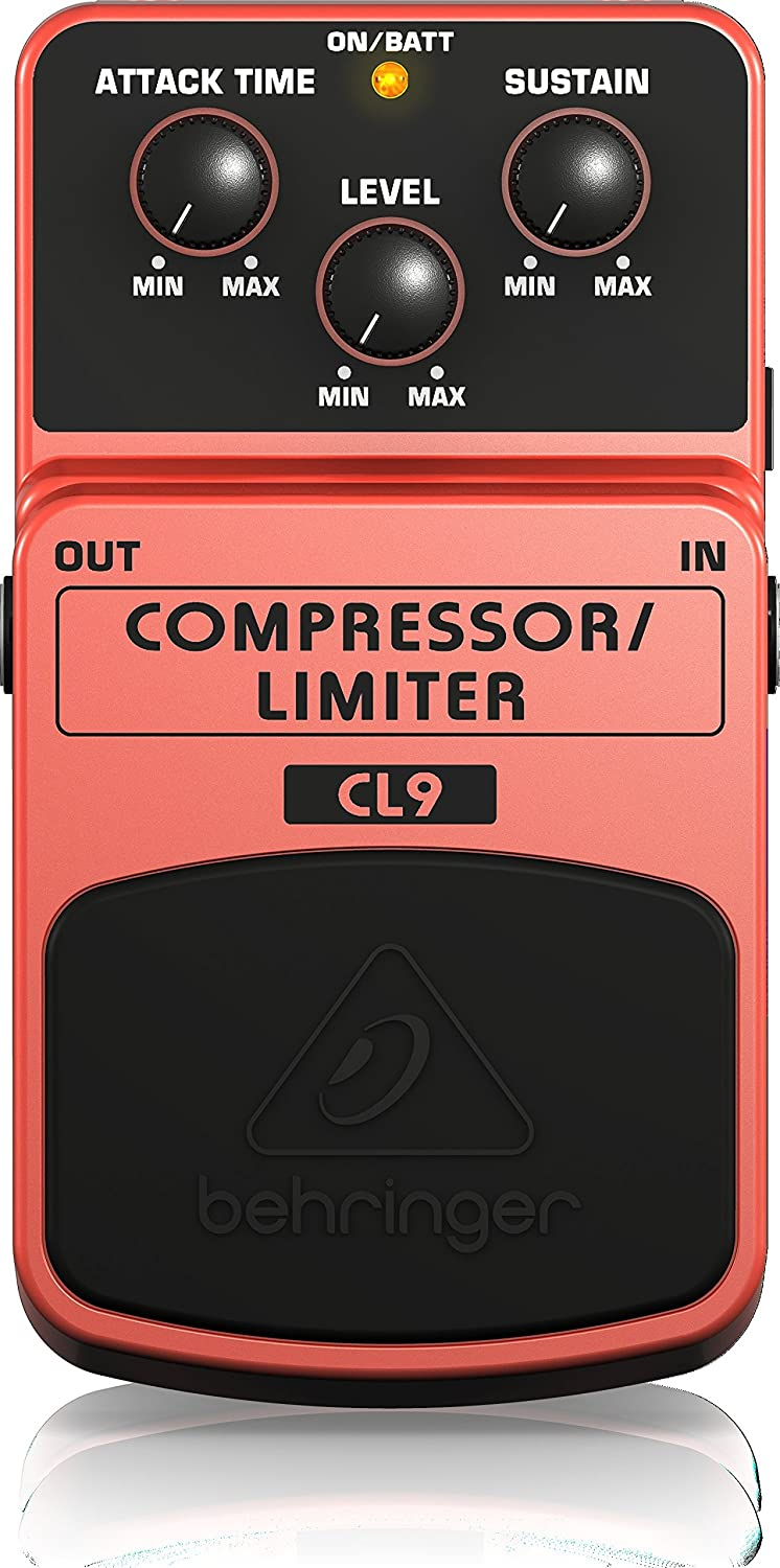 Classic Compressor/Limiter Effects Pedal Behringer CL9