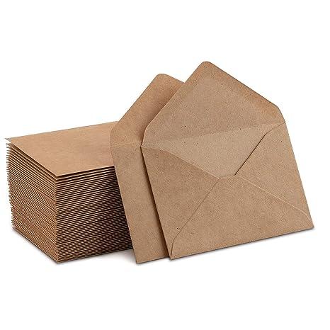 60 sobres pequeños para tarjeta de regalo, tarjeta de visita ...
