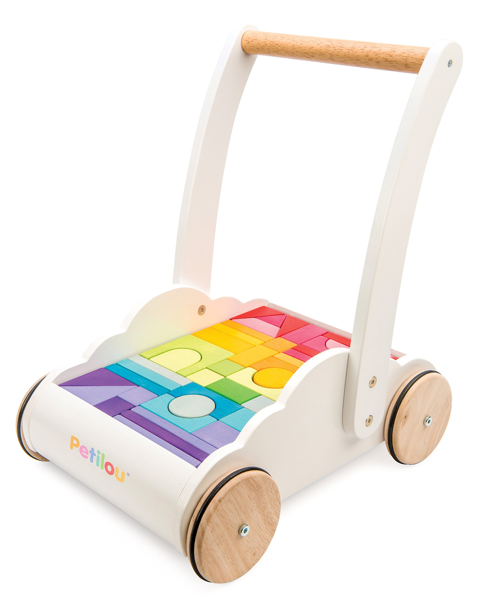 Le Toy Van Petilou Wooden Rainbow Cloud Walker