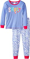 Gerber Baby and Little Girls' 2 Piece Cotton Pajama