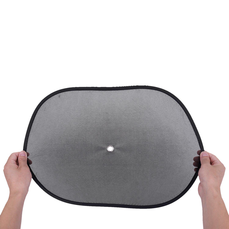 SODIAL 2 x Sun Shade Visor Shield Side Rear Window Car Auto Mesh Screen Baby Sunscreen