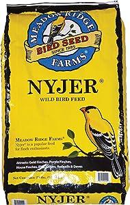 Meadow Ridge Farms Nyjer Thistle Bird Seed, 20-Pound Bag