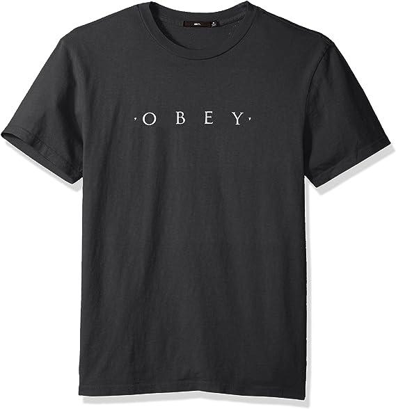 Obey Mens Novel Basic Pigment Ss Tete