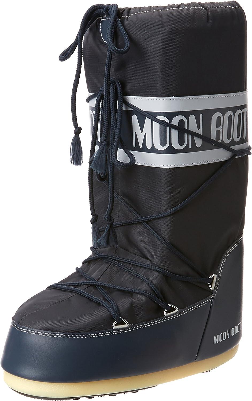 TALLA 35/38 EU. Moon Boot Nylon, Botas de Nieve Unisex Adulto