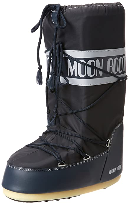 Moon Boot Unisex Adults' Nylon Snow Boots by Moon Boot
