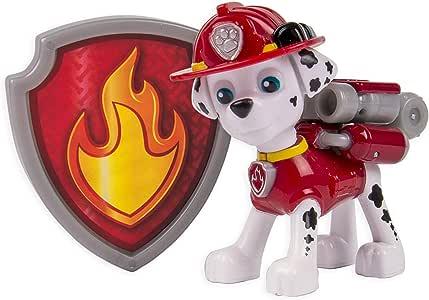 Paw Patrol – Action Pack – Marshall – Pack de Acción La Patrulla Canina: Amazon.es: Juguetes y juegos