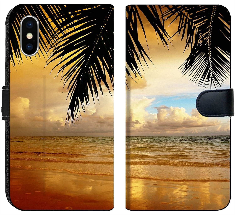 Amazon Com Apple Iphone Xs Flip Fabric Wallet Case Image Of