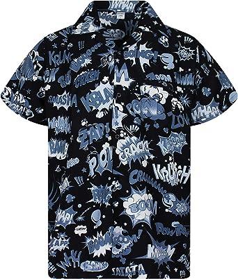 King Kameha Original Camisa Hawaiana | Caballeros | XS 6XL