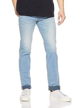 2a7759ba US Polo Association Men's Skinny Fit Jeans (8907378930705_USJN1057_30W x  34L_Blue)