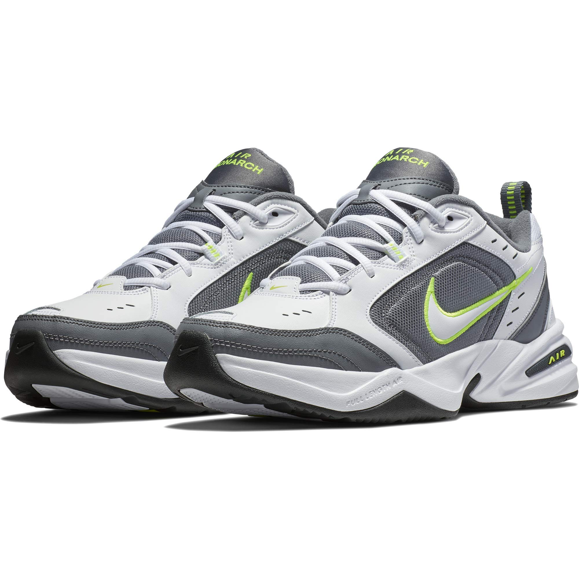 Nike Men's Air Monarch IV Cross Trainer, White-Cool Grey-Anthracite, 10.5 Regular US by Nike