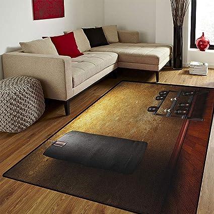 Amazon.com: fitness door mat small rug gym room with equipments