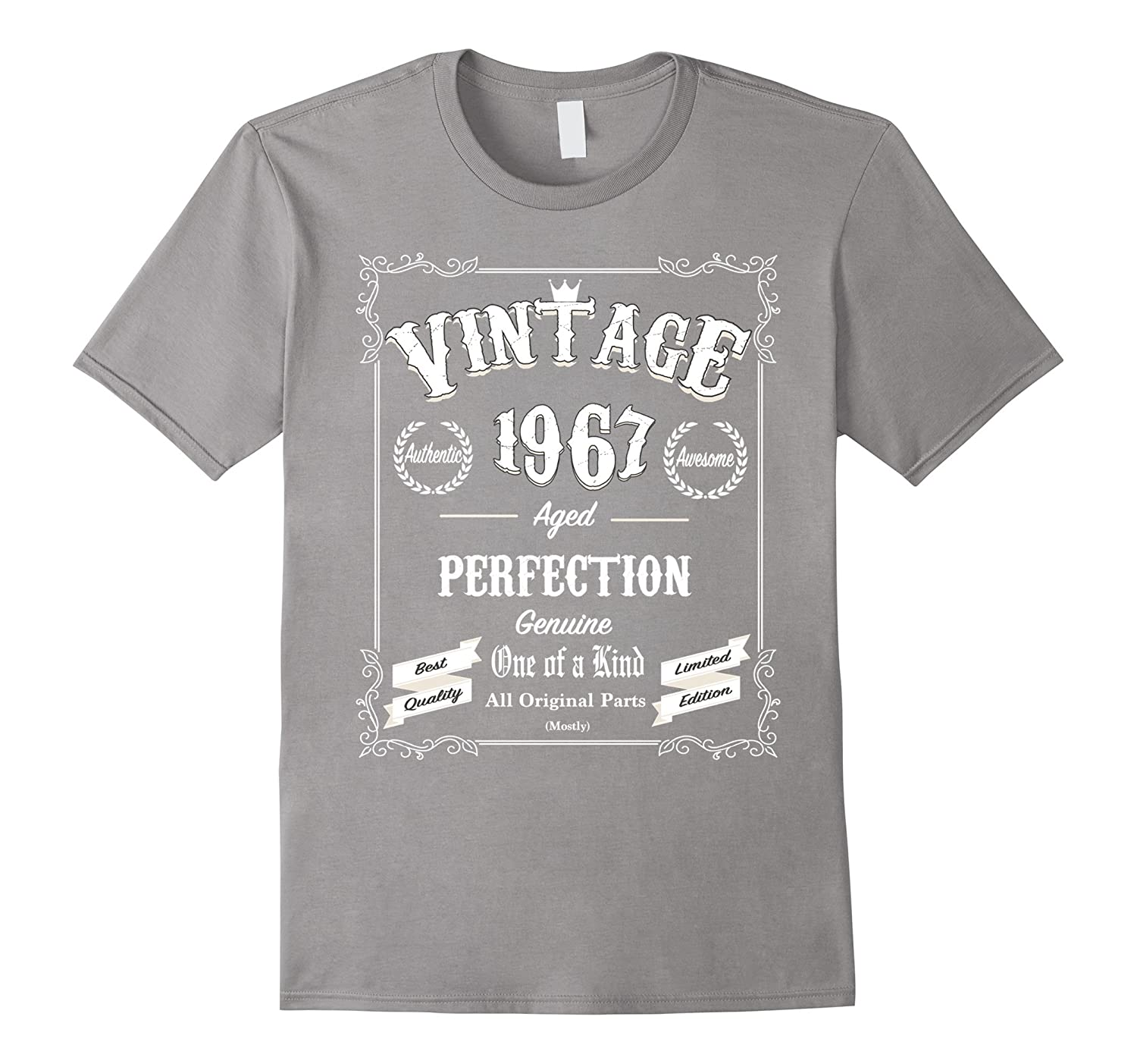 60dd3c550 50th Birthday Gift for Men and Women Tshirt, Vintage 1967-BN – Banazatee