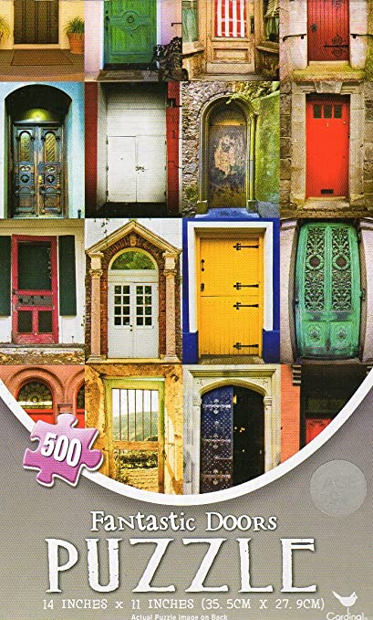Springbok Doors of the World 500 Piece Jigsaw Puzzle
