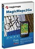 MagicMaps2Go Version 4.0. Outdoor-Navigation für Smartphones: Smartphone-Erweiterung mit digitalen topografischen Karten von MagicMaps TourExplorer oder KOMPASS