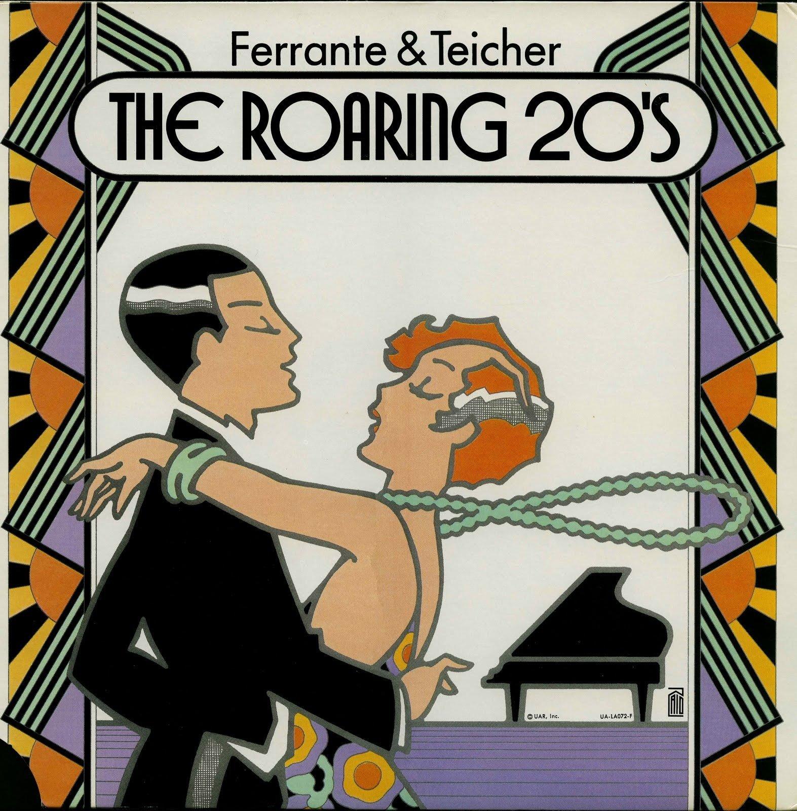 Ferrante & Teicher: The Roaring 20's (Gatefold Cover) [Vinyl LP] [Stereo] [Cutout]