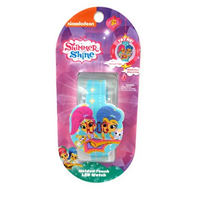 Shimmer and Shine Molded Touch LED Watch: Toys & Games