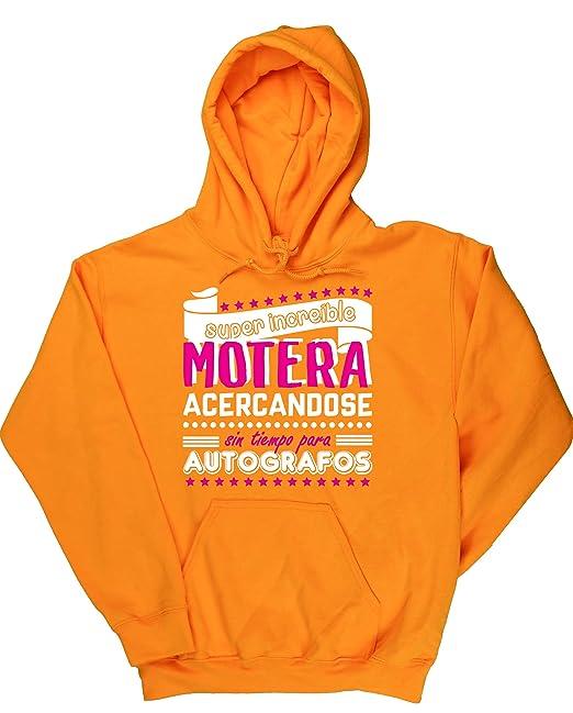 HippoWarehouse Super Increíble Motera acercándose sin tiempo para Autógrafos jersey sudadera con capucha suéter derportiva unisex: Amazon.es: Ropa y ...