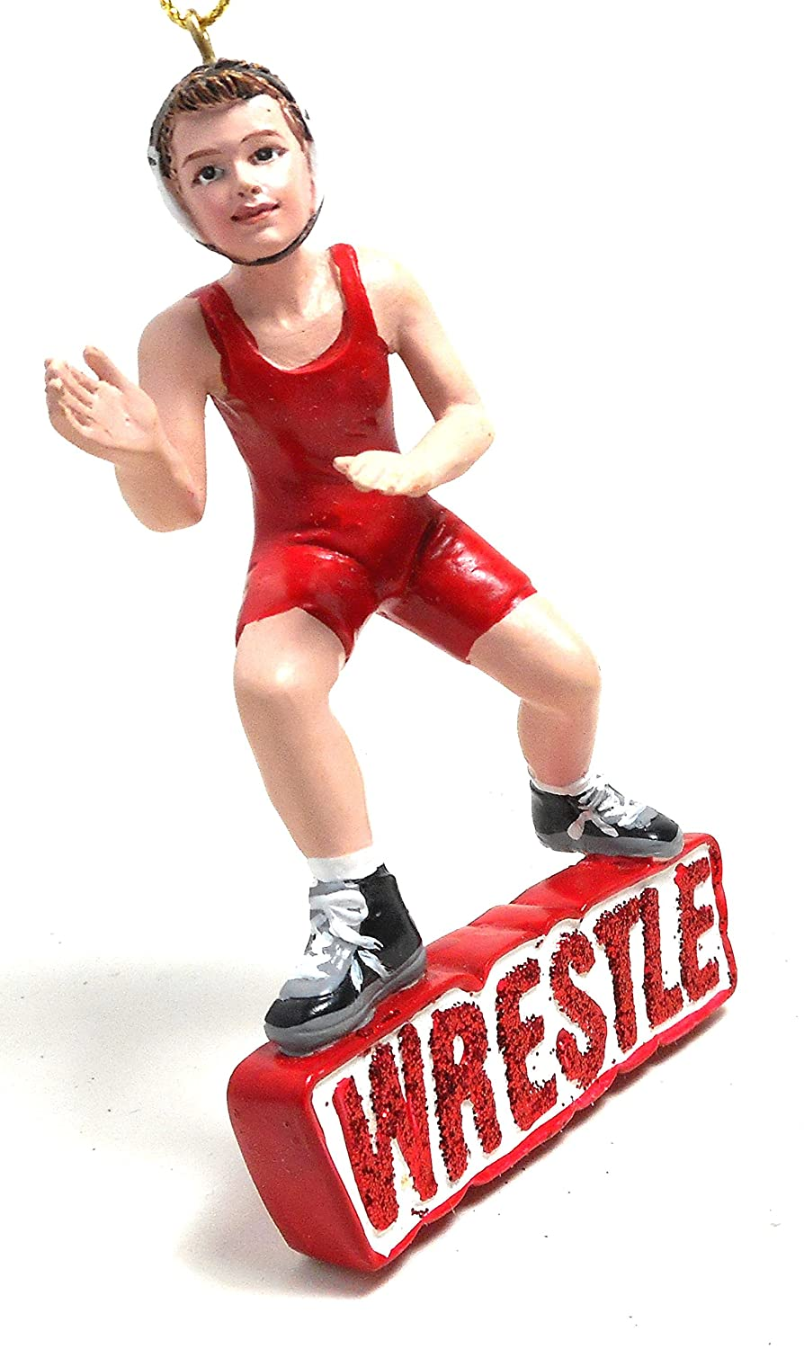 Amazon: Kurt Adler Wrestling Boy Christmas Ornament: Home & Kitchen