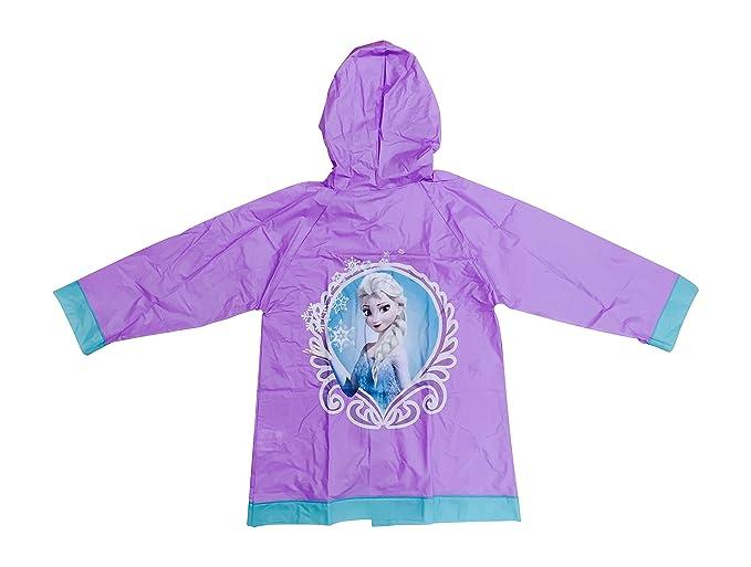 Jujak Frozen Raincoat Plastic Waterproof ELSA Girls