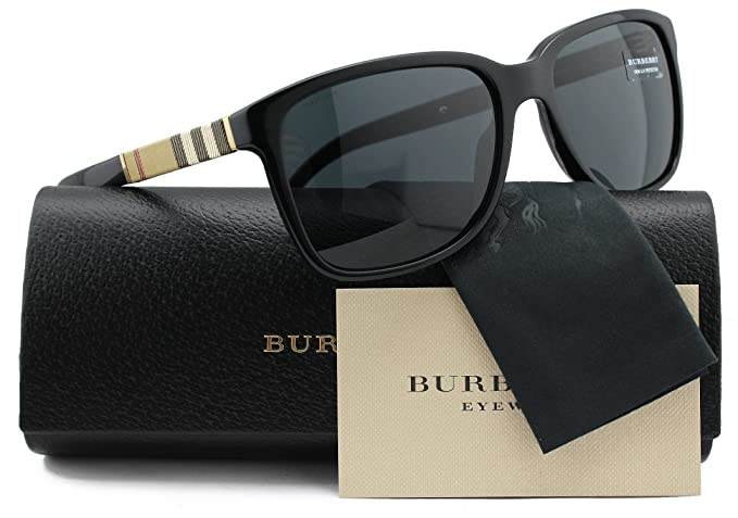 f154cf33c7b Image Unavailable. Image not available for. Colour  Burberry BE4181 Men  Sunglasses Shiny Black ...
