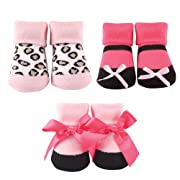 Luvable Friends Unisex Baby Socks Giftset, Leopard 3-Pack, One Size