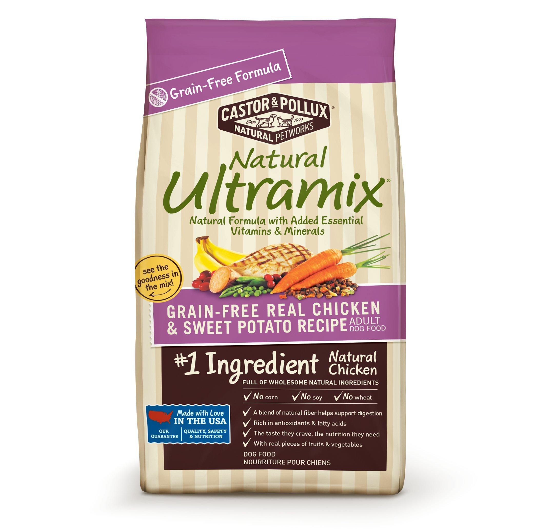Natural Ultramix Grain Free Chicken & Sweet Potato Food, 25 lb