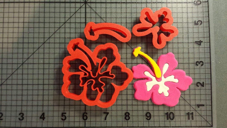 Amazon Hibiscus Flower Cookie Cutter Set 3 Inch Kitchen Dining