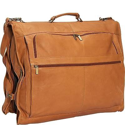"David King Leather 42"" Deluxe Garment Bag in Tan"