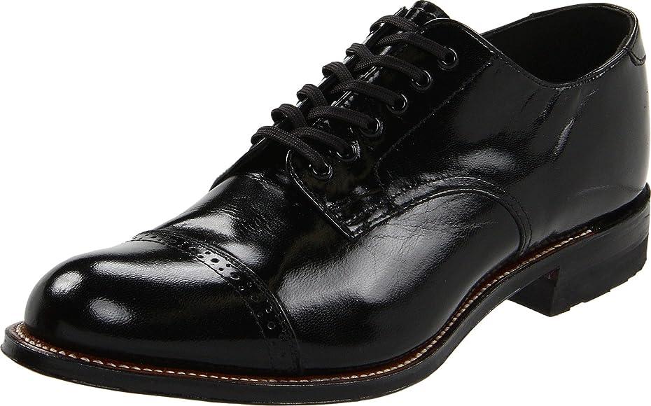34398fc6cff Amazon.com   Stacy Adams Men's Madison Cap Toe Oxford, Black, 7 D ...