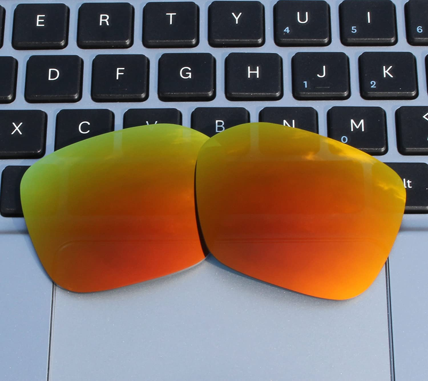 2fc63b0539 ... COLOR STAY LENSES 2.0mm Thickness Polarized Replacement Lenses for  Oakley Proxy OO9312 Fire Red Mirror ...