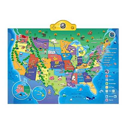 Interactive Talking USA Map for Kids TG660 - Push, Learn and Discover on atom maps, learning about weather maps, forge maps, terra maps, raven maps, skype maps,