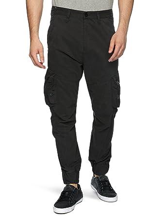 Homme X Noir L32 W34 Pantalon Bench Taille PZTwikXOul