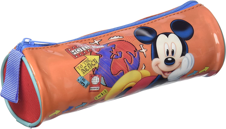 Atosa-33236 Disney Estuche Niño Mickey, Color Rojo, 21,5 x 7,5 cm (33236): Amazon.es: Juguetes y juegos