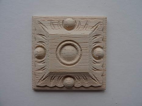 Moldura Decorativa De Madera Para Muebles De Pequeño Azulejo