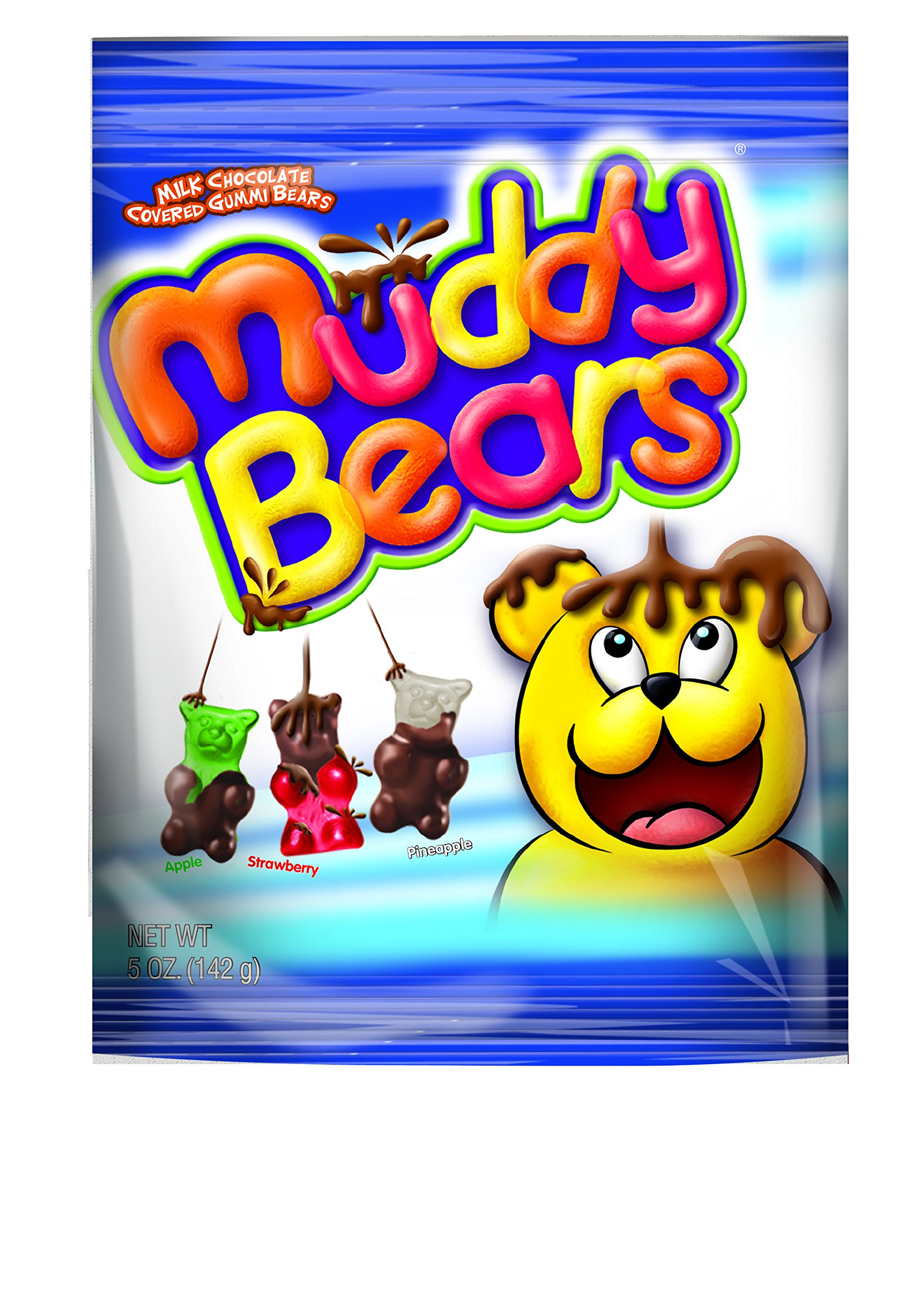 Muddy Bears Peg Bag, 5 Pound (Pack of 12)