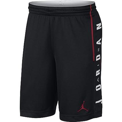 wholesale dealer 1a910 f4610 Nike Herren Rise Graphic Sportshorts, Nero Gym Red, Medium