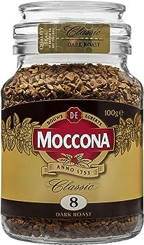 Moccona Classic Freeze Dried Instant Dark Roast Coffee