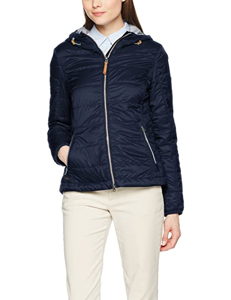 camel active Women's Blouson Jacket, Blue (Navy 40), 8: Clothing